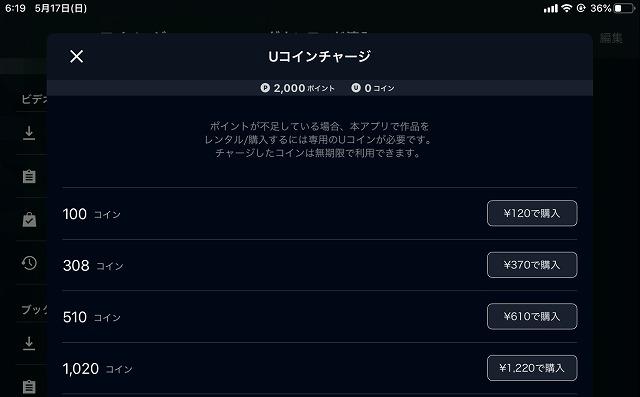Uコイン アップル社